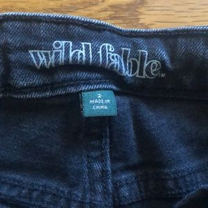 Urban Outfitters Jeans - NWOT high waisted black destroyed jeans